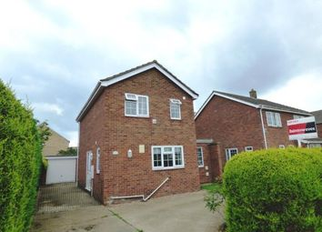 Thumbnail 3 bed detached house for sale in Hoplands Road, Coningsby, Lincoln, Lincolnshire