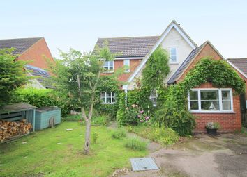 Thumbnail 4 bedroom detached house for sale in Bee-Orchid Way, Rockland St. Mary, Norwich