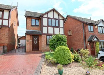 Thumbnail 3 bed detached house for sale in Thornham Close, Newcastle