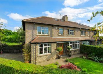 Thumbnail 4 bed semi-detached house for sale in Layton Lane, Rawdon, Leeds