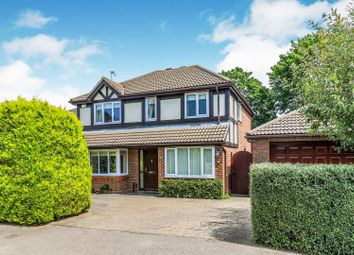 Thumbnail 4 bed detached house for sale in Arnold Drive, Chessington