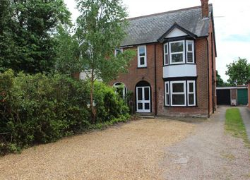 Thumbnail 4 bedroom semi-detached house for sale in Woodside, Felixstowe Road, Nacton, Ipswich