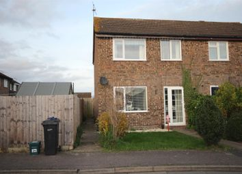 Thumbnail 3 bed semi-detached house to rent in Hawksworth Close, Grove, Wantage