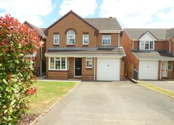 Thumbnail 4 bed detached house for sale in Hawthorn Close, Measham, Swadlincote