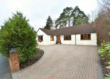 Thumbnail 4 bed detached bungalow for sale in Ridgeway Close, Lightwater, Surrey