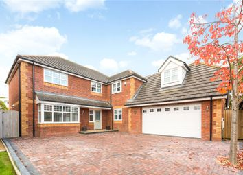 Thumbnail 5 bed detached house for sale in The Brackens, Higher Kinnerton, Chester