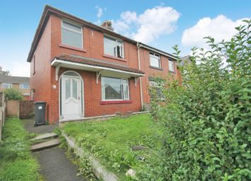 Thumbnail 3 bedroom semi-detached house for sale in Darley Avenue, Farnworth, Bolton