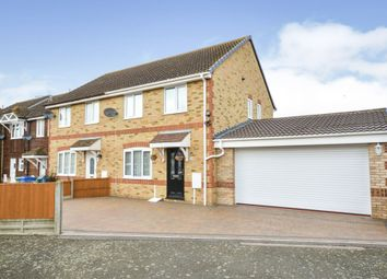 Thumbnail 3 bedroom end terrace house for sale in Anne Boleyn Close, Eastchurch, Sheerness