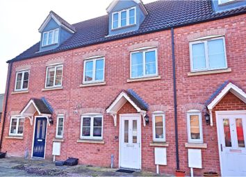 Thumbnail 3 bed town house for sale in Anchor Close, Lincoln
