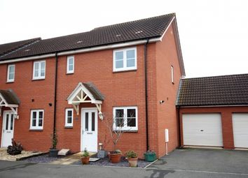 Thumbnail 3 bed end terrace house for sale in Savannah Drive, North Petherton, Bridgwater
