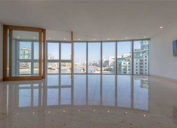 Thumbnail 3 bed flat to rent in The Tower, One St George Wharf, Vauxhall, London