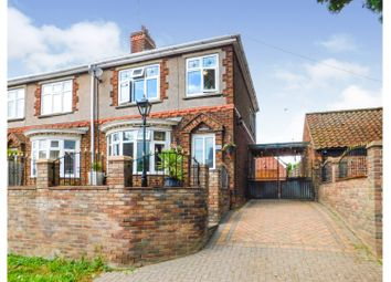 Thumbnail 3 bed semi-detached house for sale in Low Street, Winterton