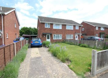 Thumbnail 3 bed semi-detached house for sale in Bush Road, Norwich