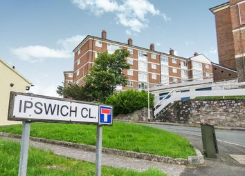Thumbnail 2 bed flat for sale in Ipswich Close, Plymouth