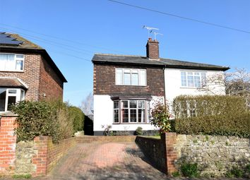 Thumbnail 3 bed semi-detached house for sale in 68 Chipstead Lane, Riverhead, Sevenoaks, Kent
