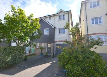 Thumbnail 3 bed semi-detached house for sale in Kel Avon Close, Truro