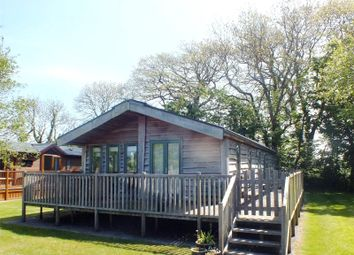 Thumbnail 2 bed bungalow for sale in Lodge 7, New Minerton Leisure Park, St Florence