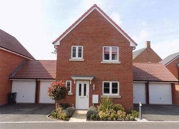 Thumbnail 3 bed detached house for sale in Hanwell Close, Swindon