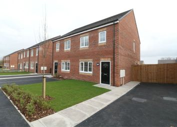 Thumbnail 3 bed semi-detached house for sale in Lakeside Rise, Askern, Doncaster, South Yorkshire
