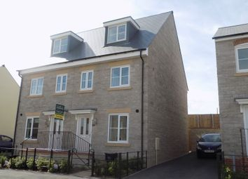 Thumbnail 3 bed semi-detached house for sale in Cowleaze, Purton, Swindon