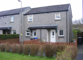 Thumbnail 2 bed end terrace house to rent in Limebank Park, East Calder, Livingston