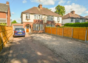 Thumbnail 3 bed semi-detached house for sale in Saffron Road, South Wigston, Leicester