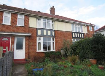 Thumbnail 3 bed terraced house to rent in Cavell Road, Norwich