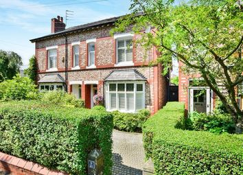 Thumbnail 5 bed semi-detached house for sale in Bourne Street, Wilmslow