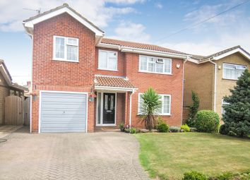 Thumbnail 5 bed detached house for sale in Grange Road, Wisbech