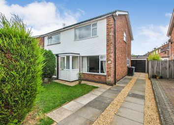 Thumbnail 3 bed semi-detached house for sale in Troon Close, Stamford