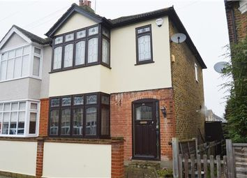 Thumbnail 3 bed end terrace house to rent in Oak Street, Romford, Essex