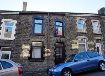 Thumbnail 3 bed terraced house for sale in Evan St, Treharris