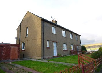 Thumbnail 4 bed semi-detached house for sale in 4 Polveoch Road, Kelloholm, Kirkconnel