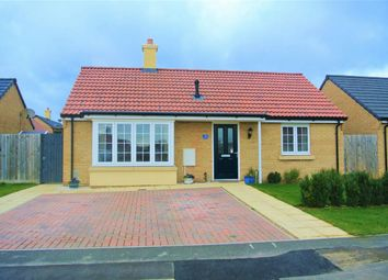 Thumbnail 2 bed detached bungalow for sale in Mayfield Gardens, Baston, Peterborough, Lincolnshire