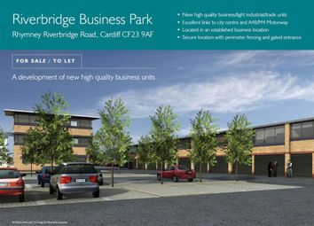 Thumbnail Industrial for sale in Riverbridge Business Park, Rhymney Riverbridge Road/Newport Road, Cardiff