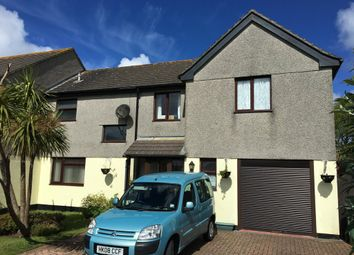 Thumbnail 4 bed semi-detached house for sale in Kew Pendra, St. Buryan, Penzance