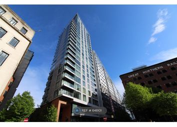 Thumbnail 1 bed flat to rent in Great Northern Tower, Manchester