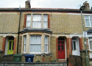 Thumbnail 4 bed terraced house to rent in Warneford Road, Oxford
