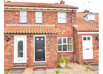 Thumbnail 2 bed terraced house for sale in Minster Avenue, Beverley
