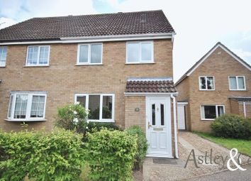 Thumbnail 3 bed semi-detached house for sale in Edgefield Close, Old Catton, Norwich