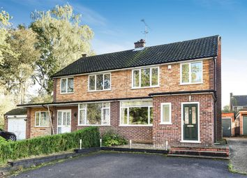 Thumbnail 3 bed semi-detached house for sale in Keats Way, Crowthorne, Berkshire