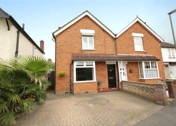 Thumbnail 3 bedroom semi-detached house for sale in Liberty Hall Road, Addlestone, Surrey