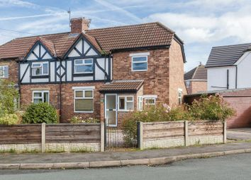 Thumbnail 2 bed semi-detached house for sale in Nicholas Avenue, Rudheath, Northwich