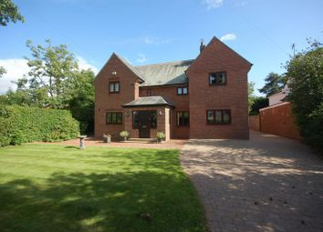 Thumbnail 5 bedroom detached house for sale in Edge Hill, Darras Hall, Newcastle Upon Tyne