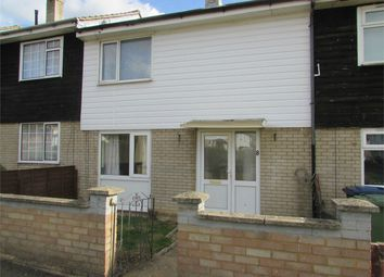 Thumbnail 2 bed terraced house to rent in Byron Close, Huntingdon