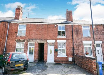 Thumbnail 2 bed terraced house for sale in Lower Grove Road, Chesterfield, Derbyshire