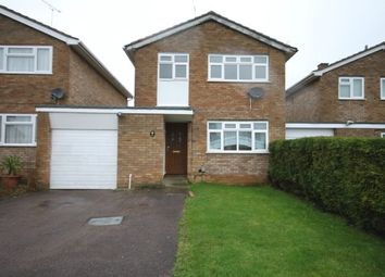 Thumbnail 3 bed detached house to rent in Benson Close, Luton
