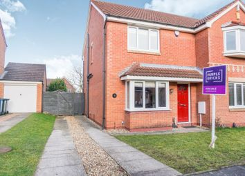 Thumbnail 3 bed semi-detached house for sale in Charlock Gardens, Nottingham