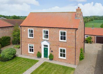 Thumbnail 4 bed detached house for sale in Moat Farmhouse, Gribthorpe, East Riding Of Yorkshire