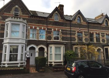 Thumbnail 5 bedroom terraced house for sale in Romilly Crescent, Canton, Cardiff